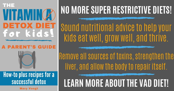 The Vitamin A Detox Diet for Kids! A Parent's Guide