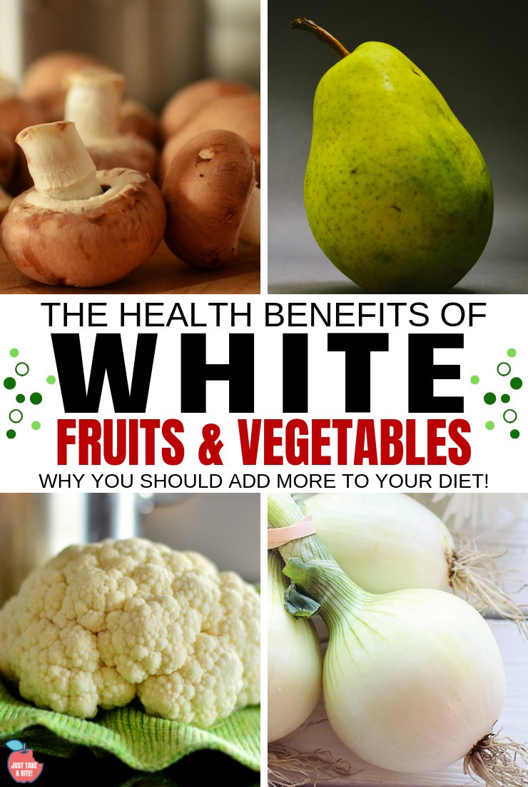 "The current health mantra is ""Eat the Rainbow."" But what about the not-so-colorful produce? Turns out there are many health benefits of white fruits and vegetables."