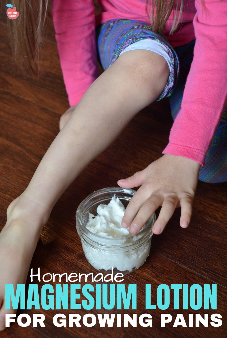 Growing pains, restless legs, trouble sleeping, muscle stiffness? Kiss your aches and pains goodbye with this super simple two-ingredient DIY magnesium lotion.