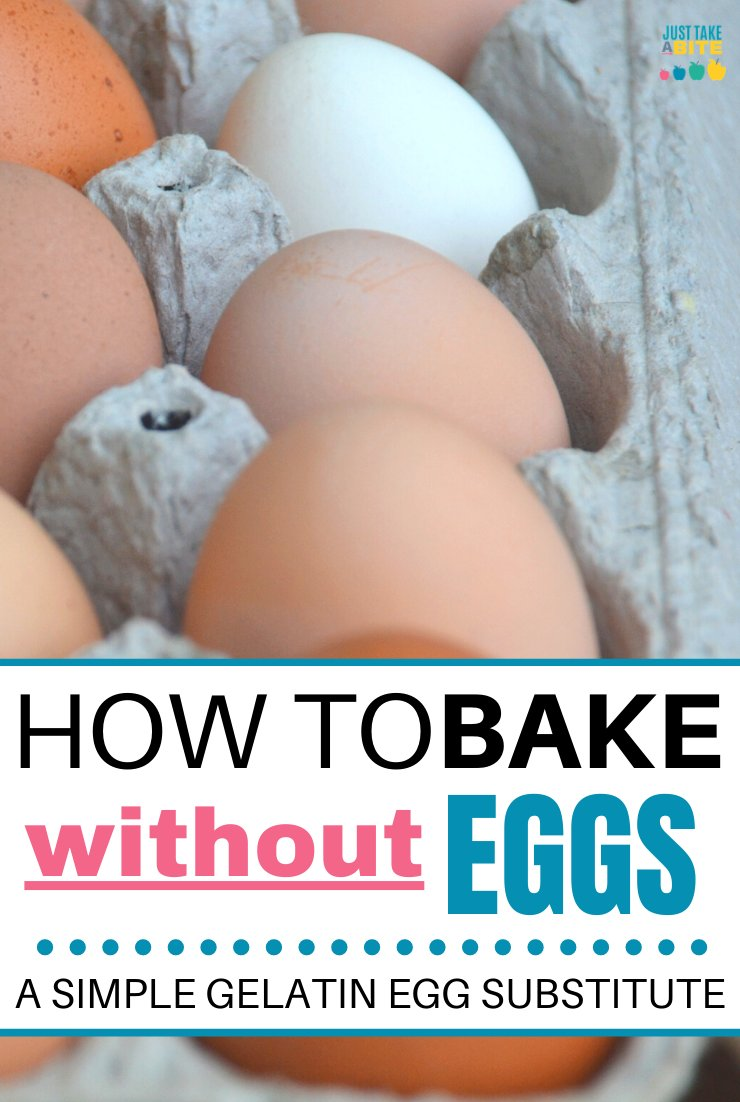 Working around egg allergies can be tricky. In this tutorial I'll show you how to bake without eggs by using a simple gelatin egg substitute. Convert your favorite baked good recipes into egg-free versions with a couple little tweaks.