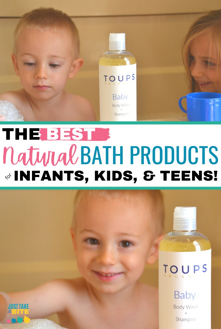 it's important to make sure you are using safe, natural health and beauty products. This is especially true when it comes to kids. Today I'm talking about the best natural bath products for kids, from infant to teen.